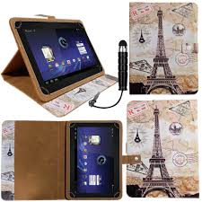 universal wallet case cover stand fits vodafone tab speed 6 4g 8