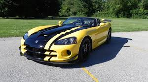 Dodge Viper Yellow - dealer unleashes limited edition viper roadster autoweek