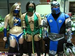 Skarlet Mortal Kombat Halloween Costume Lady Cosplay Mortal Kombat Smoke Mortal Kombat Cosplay