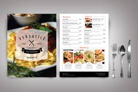29 beautiful restaurant menu designs free u0026 premium templates