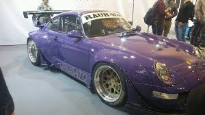 porsche rwb purple rwb porsche u0026 rocket bunny subaru brz