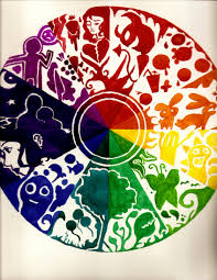 Color Wheel Home Decor Stock Images Similar To Id 3d Color Scheme With Abcd Vector