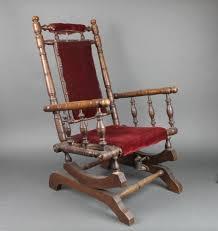 Vintage Childrens Rocking Chairs Antique American Rocking Chair Antique Furniture