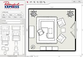 living room floor planner create and print floor plans for bedroom home office