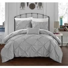 silver duvet covers for less overstock com