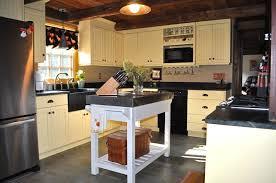 Impressive Farmhouse Kitchen Island Tables With White Paint Colors - Farmhouse kitchen table with drawers