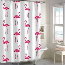 Shower Curtains Bed Bath And Beyond Buy Flamingo Shower Curtain Shower Curtains From Bed Bath U0026 Beyond