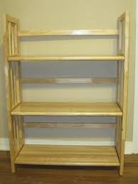 Folding Bookshelves - amazing folding wood bookcases narrow folding bookcase fold up