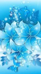 Blue Flower Backgrounds - silver apple 1 apple pinterest apples wallpaper and apple logo