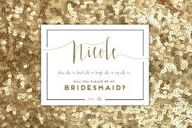 asking bridesmaids cards of honor 15 weddbook