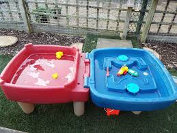 little tikes sand and water table little tikes easy store sand and water table in morpeth