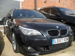 used bmw 5 series estate for sale used bmw 5 series 2007 diesel 520d m sport estate black manual for