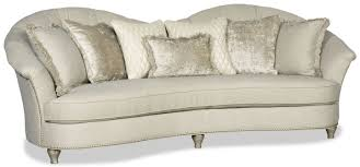 Curved Outdoor Sofa by Modern Style Curved Back White Sofa