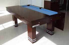 Pool Table Dining Table Amazing Dining And Billiard Table For Small Spaces Freshome Com