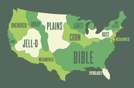 map usa bible belt benjamin k shown rethinking the lower 48