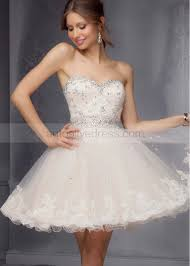 mini sweetheart neckline blue lace tulle beaded knee length prom dress