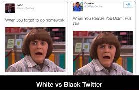 Black And White Memes - white twitter vs black twitter album on imgur