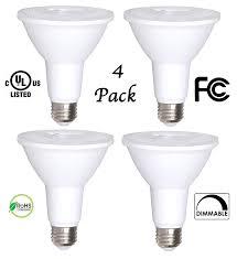 65 Watt Equivalent Indoor Led Flood Light Bulb by 4 Pack Bioluz Led Par30 Led Bulb 12w Dimmable Flood Light Bulb