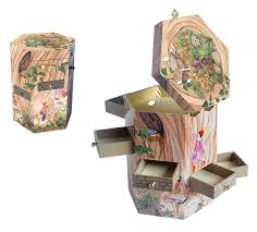 amazon com enchantmints treasure tower music box fairy
