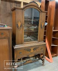 how to recondition wood cabinets how to paint furniture white salvaged inspirations