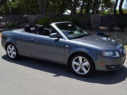 audi convertible 2008 sold 2007 audi a4 convertible gray 3 2l 255hp v 6 awd for sale