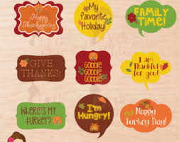 thanksgiving photo booth props photo props printable 11