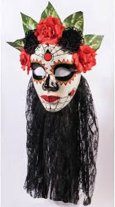 day of the dead masks day of the dead mask women s day of the dead mask black day of