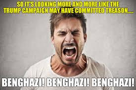 Benghazi Meme - trump treason imgflip