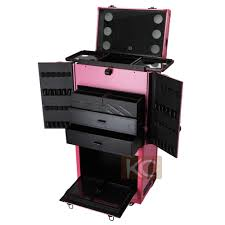 portable hair and makeup stations trolley beauty makeup stations with lighted mirror buy