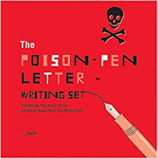 the poison pen letter writing set everything you need to let