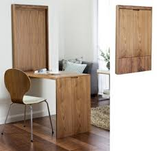 folding table wall mount folding wooden table solid office pod