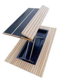 fold away cockpit table composite casa mare videos