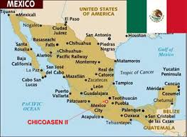 Oaxaca Mexico Map Chicoasén Ii Lmh