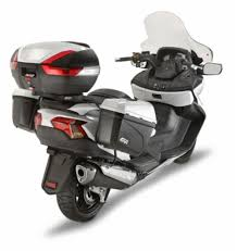 givi introduces luggage system for the 2013 14 suzuki burgman 650