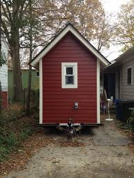 tiny house scotland home page this nesthouse is signal red and