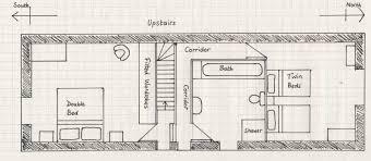 floor plans peak district holiday cottage candlelight cottage first floor plan