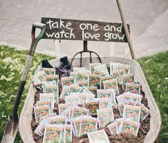 flower seed wedding favors save money by giving flower seeds as wedding favors