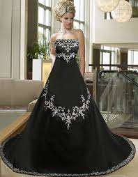 Black And White Wedding Dress Gothic Wedding Dresses Black And White Fashion Corner Fashion