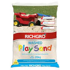 richgro 20kg play sand bunnings warehouse