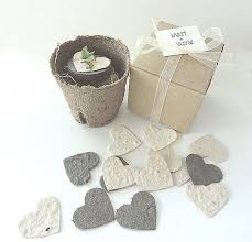 eco friendly wedding favors plantable seed paper hearts eco friendly wedding favors bridal