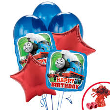 thomas the train happy birthday balloon bouquet birthdayexpress com default image thomas the train happy birthday balloon bouquet