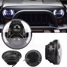 jeep headlights halo suparee led cars running lights led headlight with angel eyes halo
