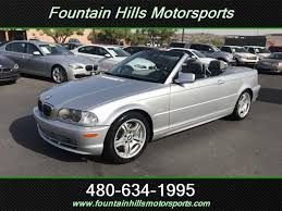 2003 bmw 330ci convertible 2003 bmw 330ci convertible for sale in az stock