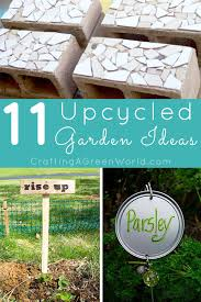 New Year Garden Decoration by 11 Upcycled Garden Decorations Crafting A Green World