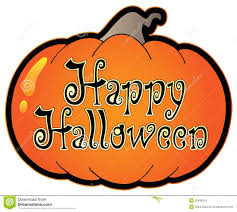 picture of happy halloween pumpkin with happy halloween sign stock images image 20936204
