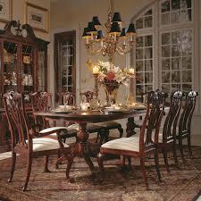 american drew dining table american drew cherry grove 45th pedestal dining table hayneedle
