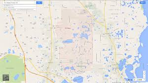 Map Of Winter Haven Florida by The Villages Florida Map
