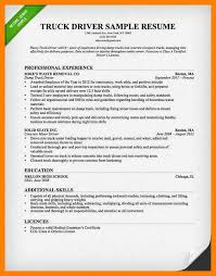 Ged Resume 7 Sample Truck Driver Resume Authorize Letter