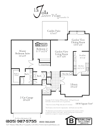 San Gabriel Mission Floor Plan by 100 Mission Floor Plans Beachwalk Community Properties Pk