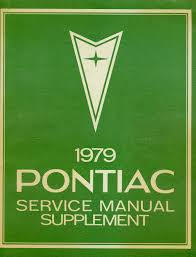 pontiac complete restoration manual